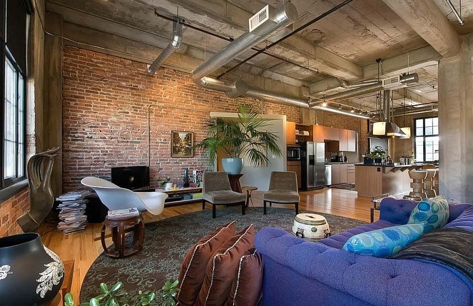 Бурная смесь востока, модерна,hi tech и лофта, яркий образец эклектики, мебель лофт (фото)
