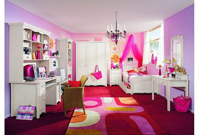 Комната для девочки подростка из сосны Милано