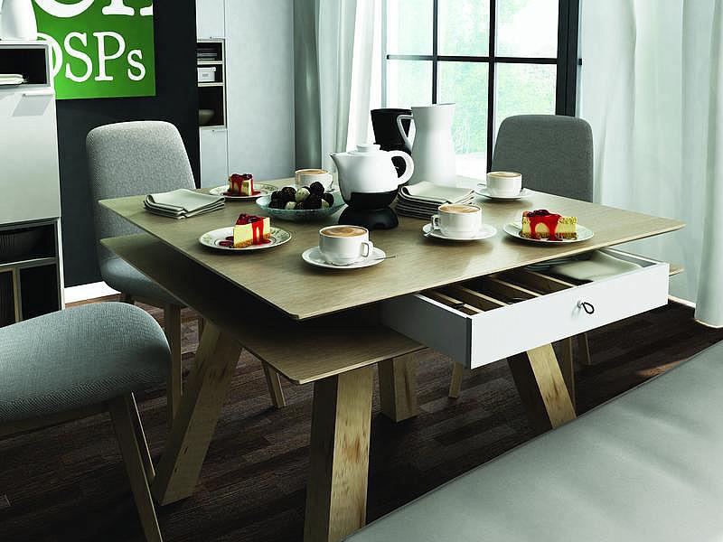 столы для кухни фото в современном стиле