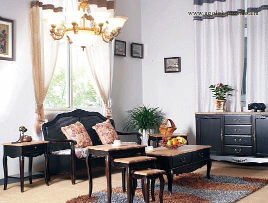Мебель в стиле Прованс из натурального дерева