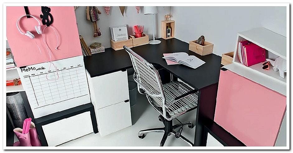 Угловой письменный стол с ящиками фото