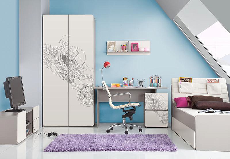 Мебель для подростков и детей 2Pir польской фабрики мебели VOX